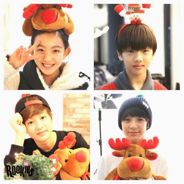 Anggota SM Rookies Tampak Imut dalam Foto Edisi Hari Natal