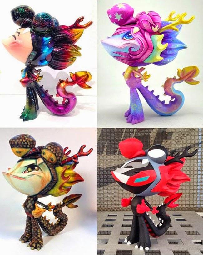 Martin Hsu Dragonboy Artist Series by Mark Nagata, kaNO, 64 Colors and Jeremiah Ketner