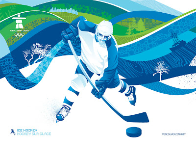 Free Vancouver 2010 Olympic Winter Games PowerPoint Background 23