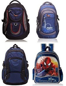 Flat 50% Off or more on Backpacks @ Amazon