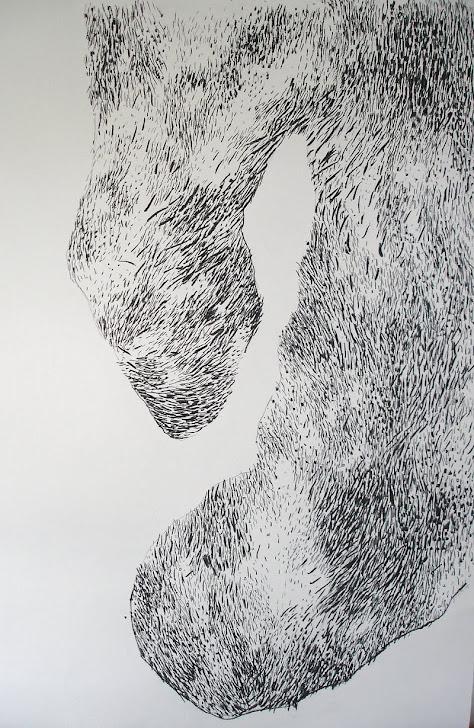Fusain / papier 100x75 2012