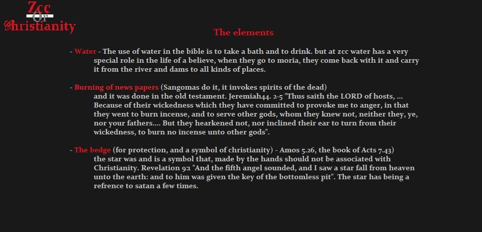 Exposing Zcc Zion Christian Church