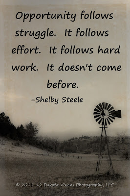 Inspirational Quote by Dakota Visions Photography LLC Shelby Steele www.dakotavisions.com