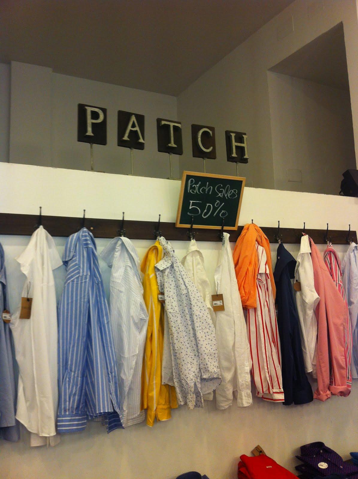 """PATCH.- La tienda de ropa de hombre más """"de moda"""" de Madrid"""