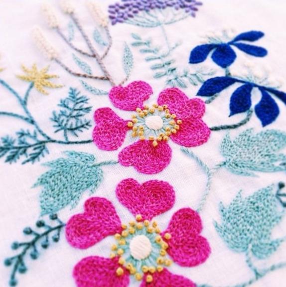 Rainy Season Flowers by Yumiko Higuchi