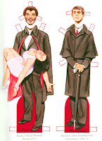 The Collinsport Historical Society: VAMPIRE PAPER DOLLS ...