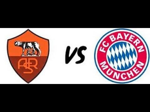 As Roma vs Bayern Munchen