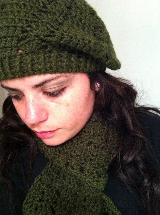 Boinas tejidas a crochet paso a paso - Imagui