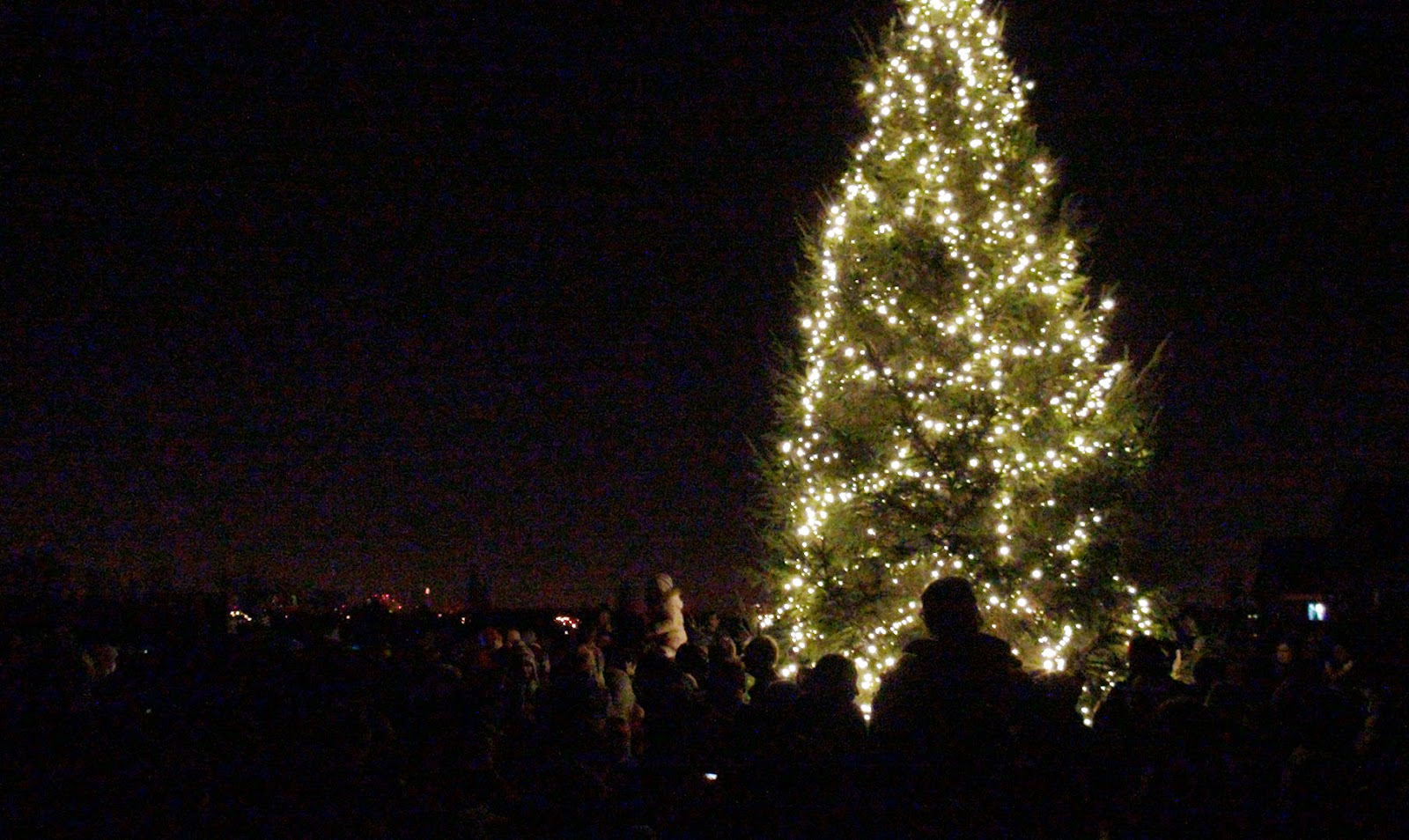 christmas light switch on 2018 cheshire oaks