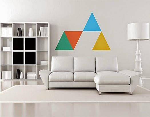 Decoraci n geom trica formas y figuras en casa - La forma muebles ...