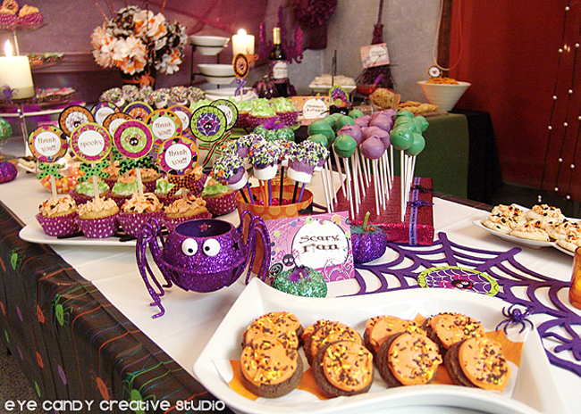 ideas for desserts at a halloween party, finger food for a halloween party