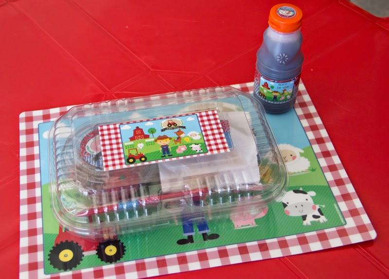 Rótulo de suco, jogo americano e embalagem de doces personalizados Um Sonho de Mimo