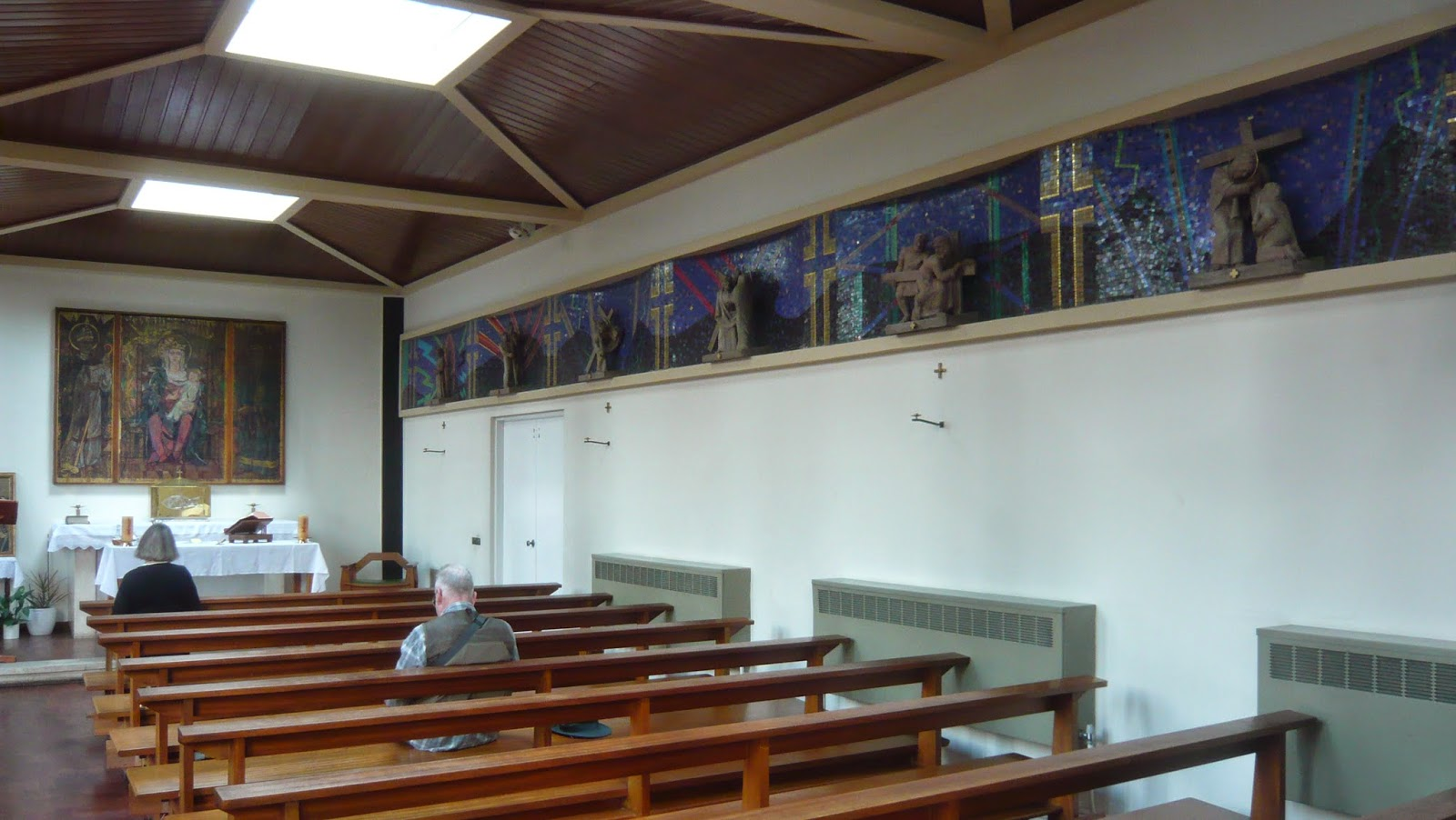 Between: Sabbatical art pilgrimage: St Aidan of Lindisfarne East Acton