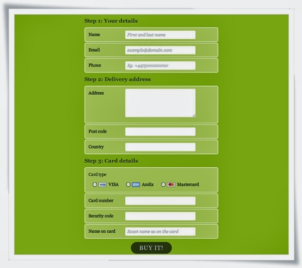 A Field Day with HTML5 Forms