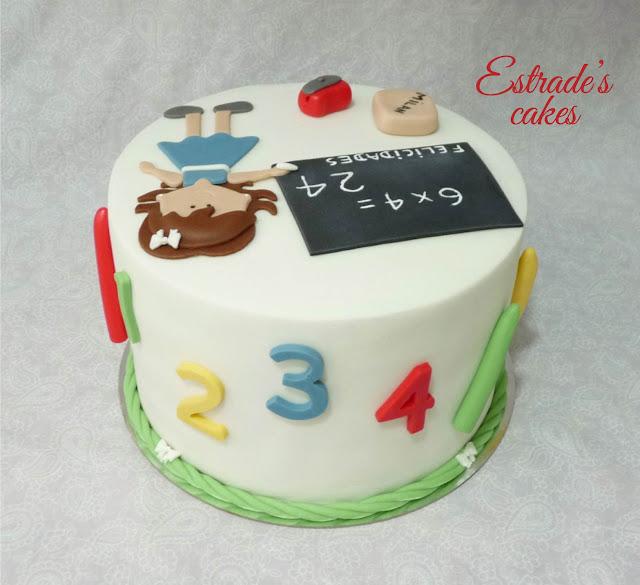 tarta para una maestra 4