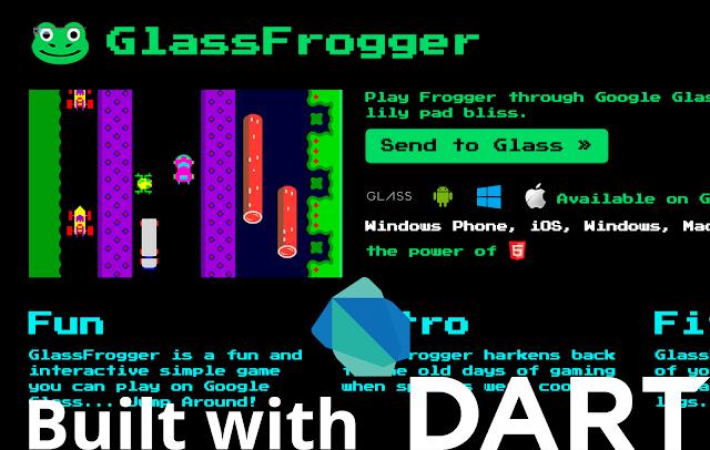 html5 dart app google glass