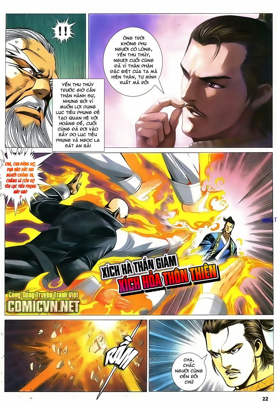 Cổ Long Quần Hiệp Truyện chap 84 Trang 22 - Mangak.info