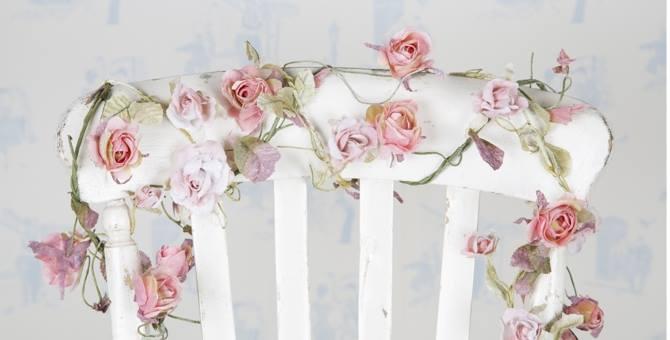Handgjorda rosenslingor