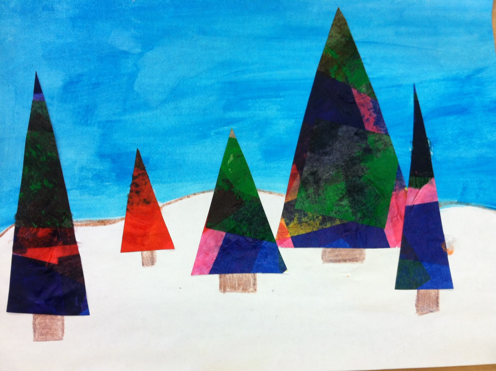 Christmas Tree Forests...and protractors - Teaching in Room 6