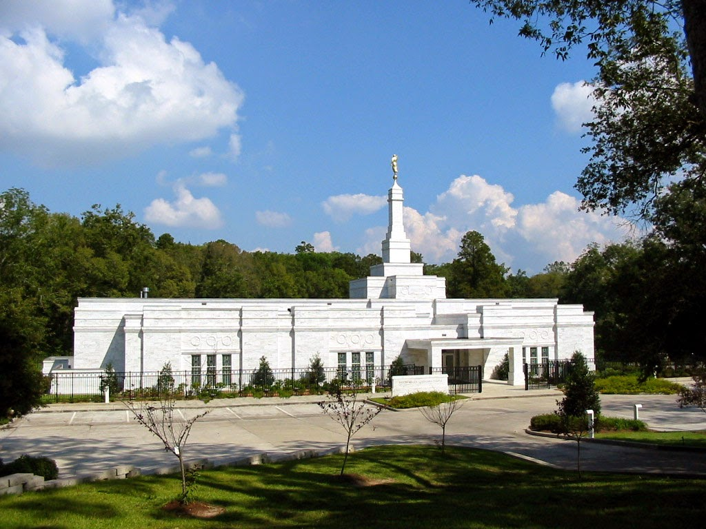 Louisiana Baton Rouge LDS Temple