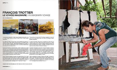 Fran ois trottier artiste peintre parution dans mixte for Le pere du meuble montreal