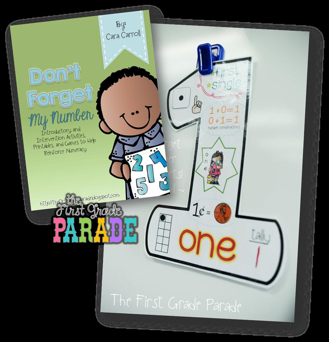 Number Sense & a Freebie! - The First Grade Parade