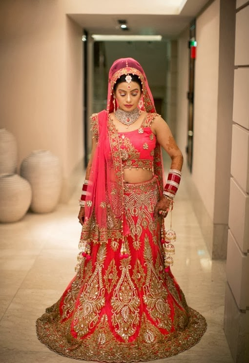 Hindu Wedding Dress For Girl