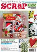 I was published: Scrap365 UK print Dec. 2012