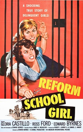 Poster - Reform School Girl (1957)