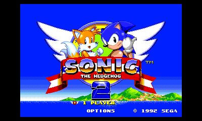 Vibra con 3D Sonic the Hedgehog 2, ya disponible para 3DS