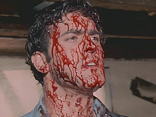 Bruce in The Evil Dead