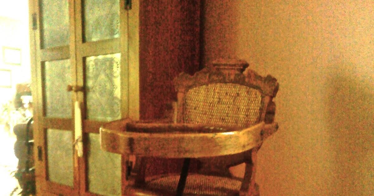 Antique Treasures: Childs High Chair / Rocker