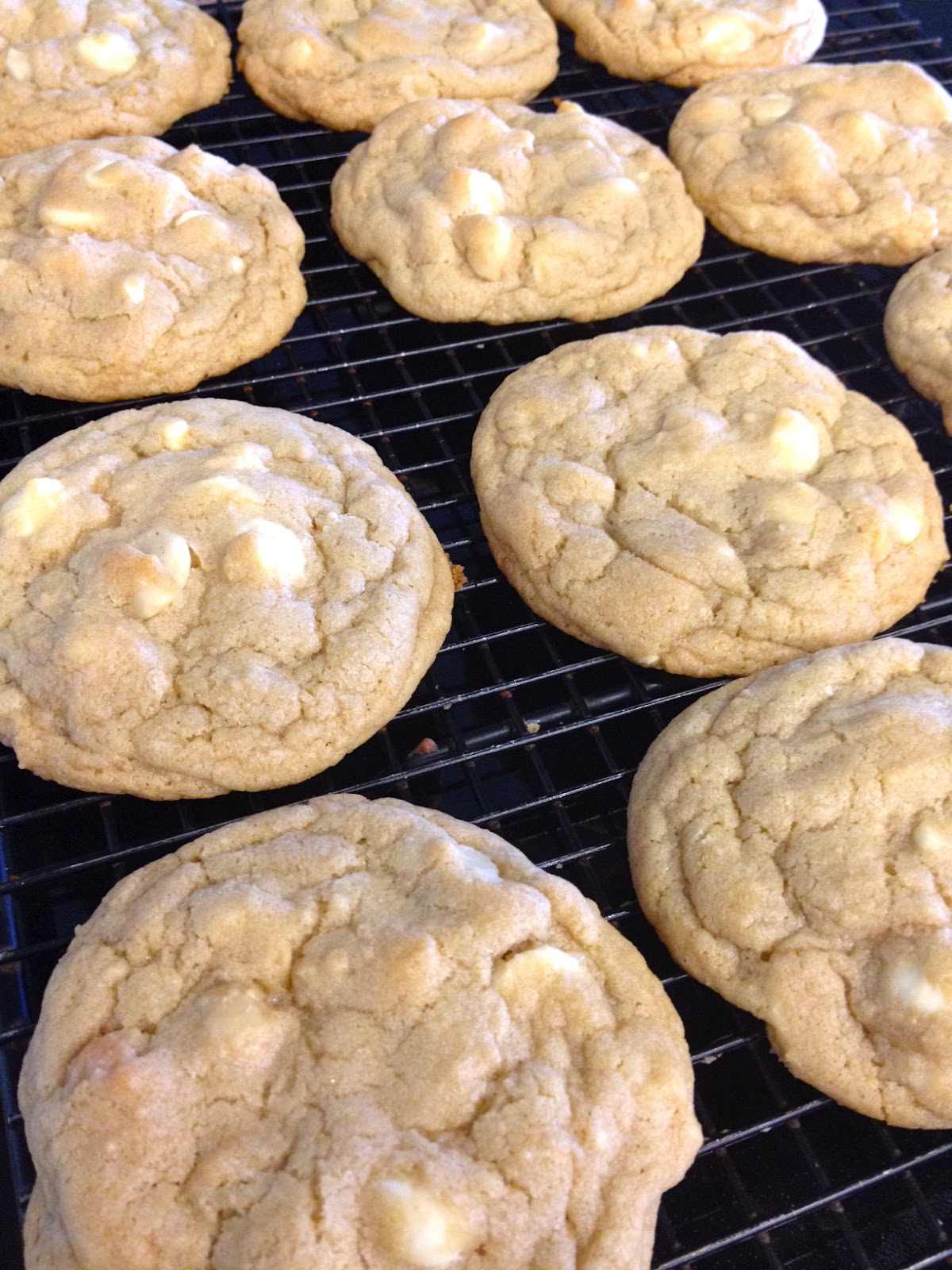 Becoming Betty: White Chocolate Macadamia Nut Cookies
