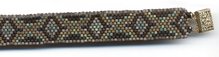 Free Bead Patterns And Ideas Peyote Beaded Graph Pattern Free