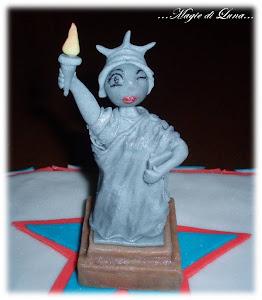 Torta Statua della Libertà