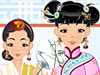 Bermain Asian Beauty Dress Up