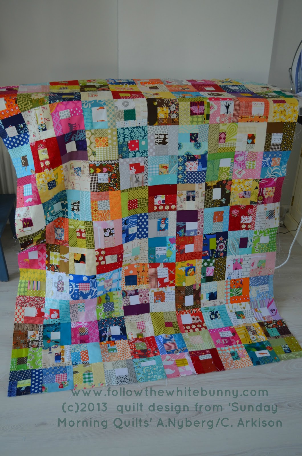 Follow The White Bunny Five Favourite Scrap Quilts