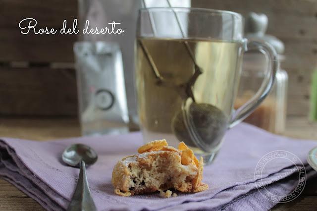 Biscotti facili rose del deserto con cornflakes ipasticcidiluna foodblog