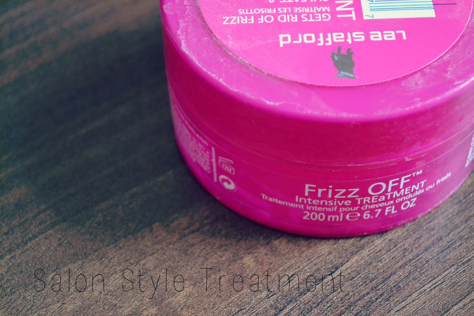 lee stafford frizz off conditioner treatment