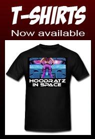Hoodratz In Space T-shirts