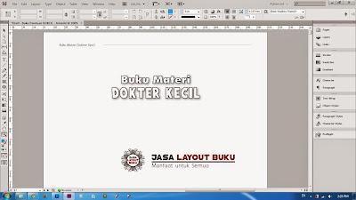 Jasa Layout Buku Murah di Jakarta