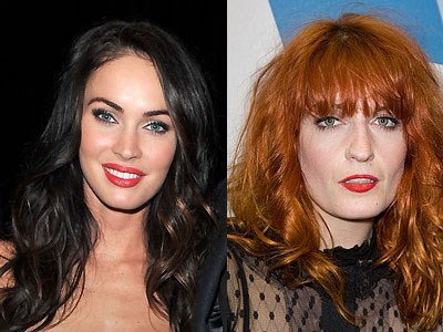 Megan Fox and Florence Welch Which celebrity is the youngest?