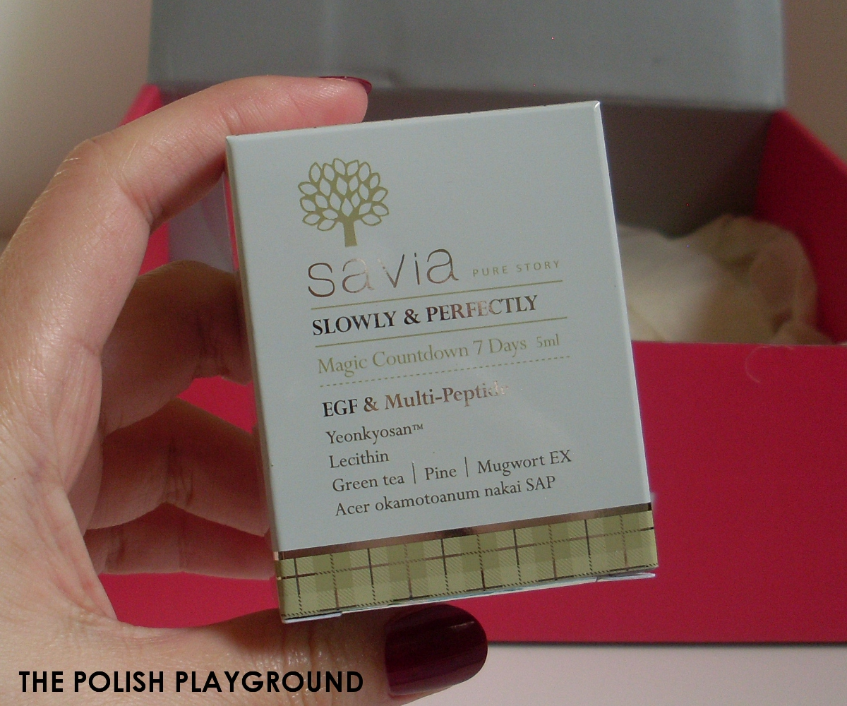 Memebox #9 Unboxing - Savia Magic Count Down 7 days EGF & Multi-Peptide