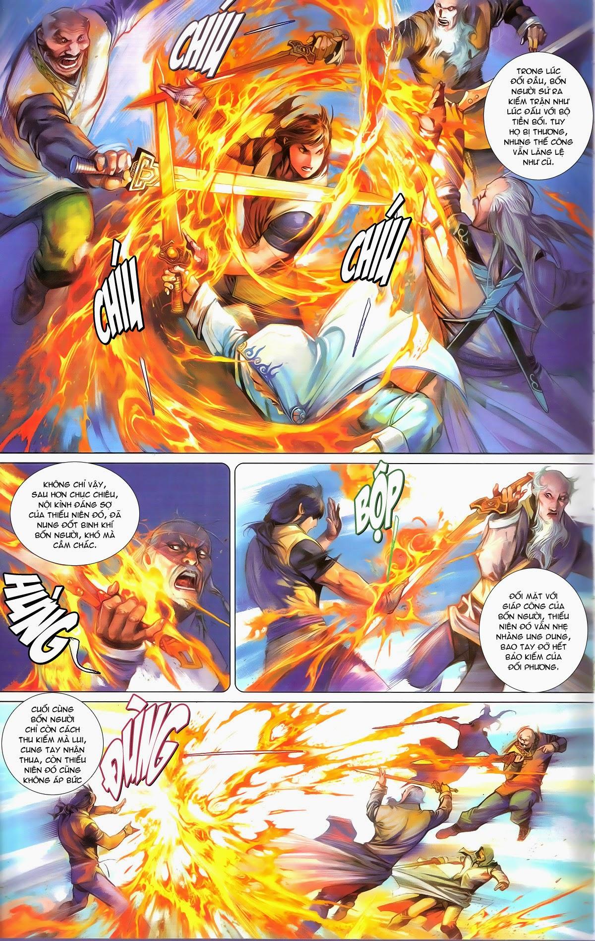 Phong Vân chap 674 – End Trang 13 - Mangak.info