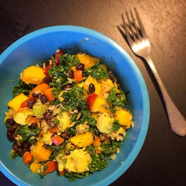 Meatless Monday Wild Rice Veggie Bowl