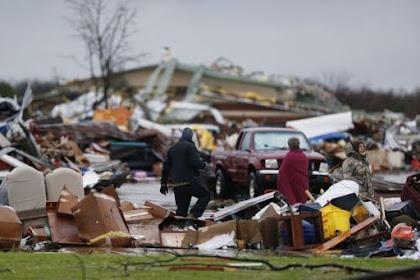 Angin Puting Beliung Landa Amerika Serikat, 41 Tewas