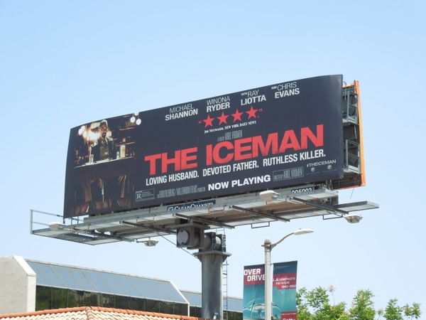 The Iceman movie billboard