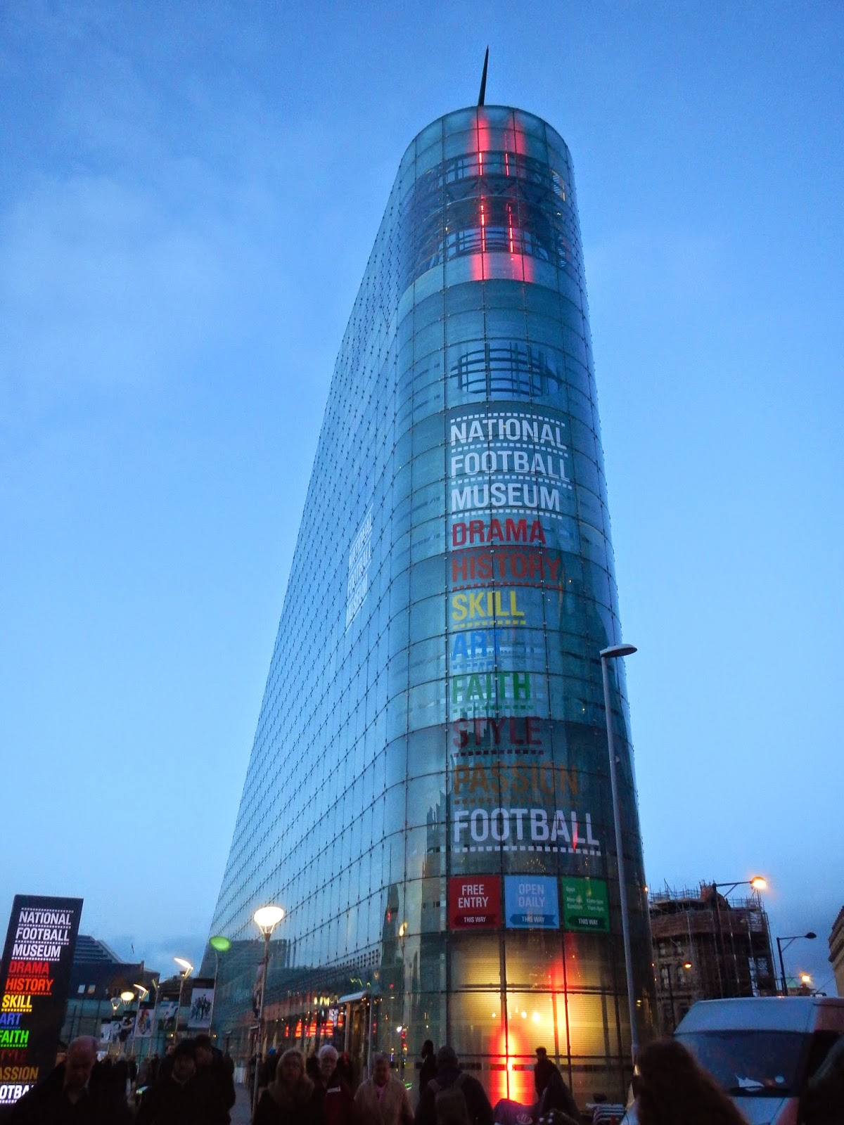 Football Fanaticos: National Football Museum in Manchester