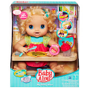 Baby Alive. APPARENTLY all you need to take care of a baby is a bottle of .