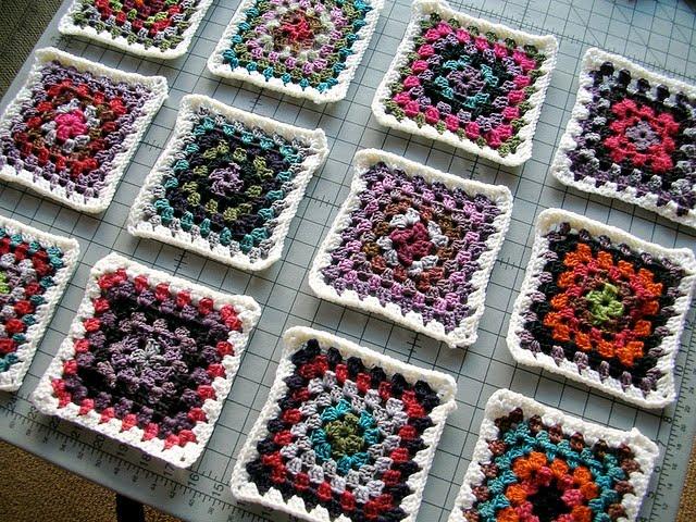 granny square crochet-Knitting Gallery